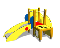 Finno playground equipment - ABC Anton